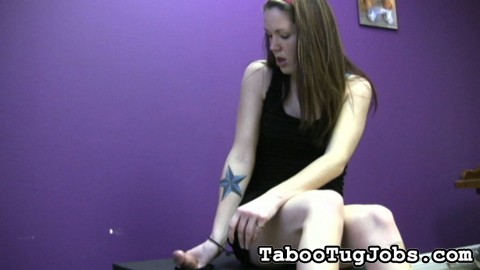 Penish jerking nicole 8. Nicole loves jerking cock. She does give an amazing hand job. But she likes to be creative with her tug jobs.