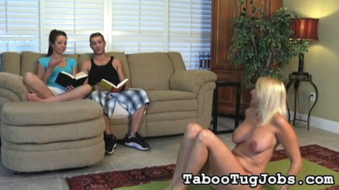 Kriselle hates bringing guys over to the house. Her mom, the hottest cougar on the block, the sexy Dallas, is very unpredictable.