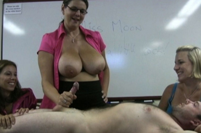 Classroom embarrassment 25. Ten minutes into the class and she already has a student in trouble. She calls him to the front of the class. The perfect punishment is embarrassment in front of the entire class.